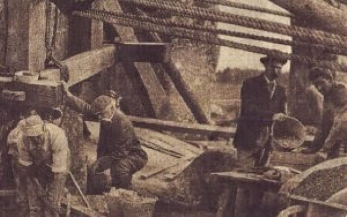 This picture shows workers on the site in 1901 in a restoration which caused outrage at the time but which is rarely referred to in official guidebooks. For it means that Stonehenge, jewel in the crown of Britain's heritage industry, is not all it seems. Much of what the ancient site's millions of visitors see in fact dates back less than 50 years.