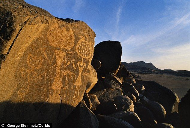 Nasa book suggests that ancient rock art could have been created by extraterrestrials