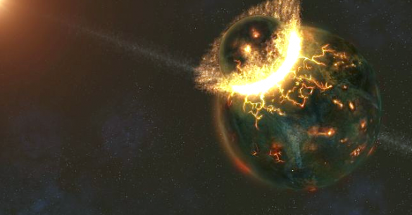 Darwin Considered the Existence of ETs, and Alien Origins of Life on Earth Early-Earth-585x306