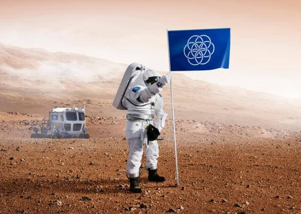 The International Flag of Planet Earth 217 119 26 Finally, a signpost to plant when we conquer alien worlds.