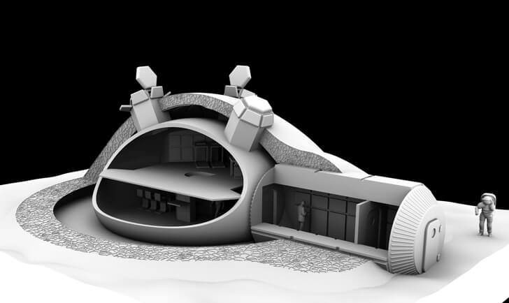 THEY WANT TO BUILD A PERMANENT BASE ON THE MOON IN 20 YEARS