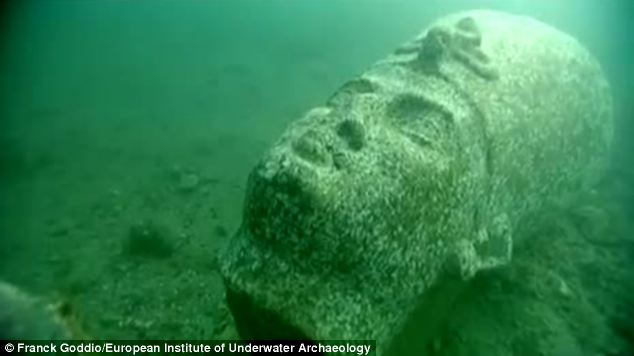 An international team of marine archaeologists is preparing to show some of the objects found in the underwater city