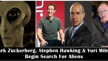 Mark Zuckerberg, Stephen Hawking and Yuri Milner begin $100 million search for alien life