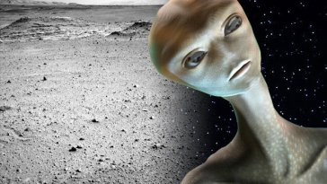 What the hell is this? NASA photo reveals mysterious black object over Mars