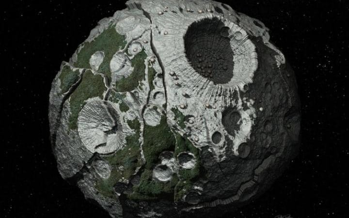 The Psyche asteroid