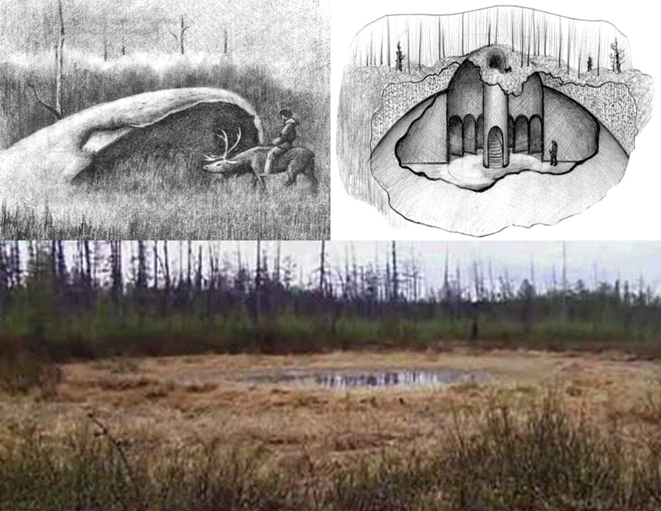 Image result for The Mysterious Cauldrons From Siberia's Valley of Death