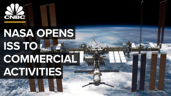 NASA is opening the space station to commercial business and more private astronauts
