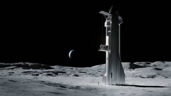 SpaceX's Starship May Start Flying Moon Missions in 2022