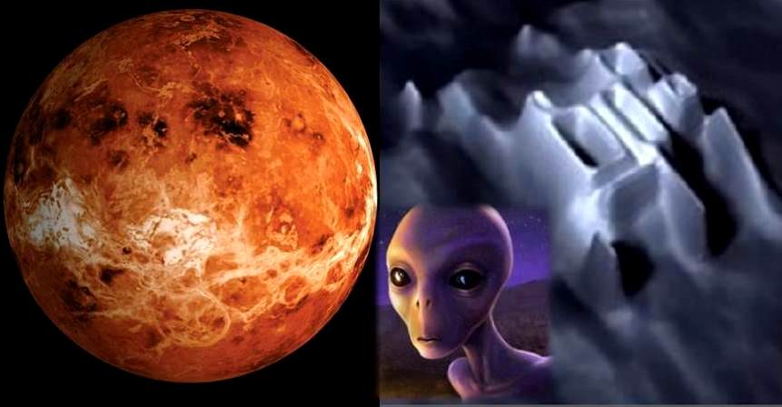 """NASA has deliberately hidden the signs of """"Extraterrestrial Life"""" on Venus"""