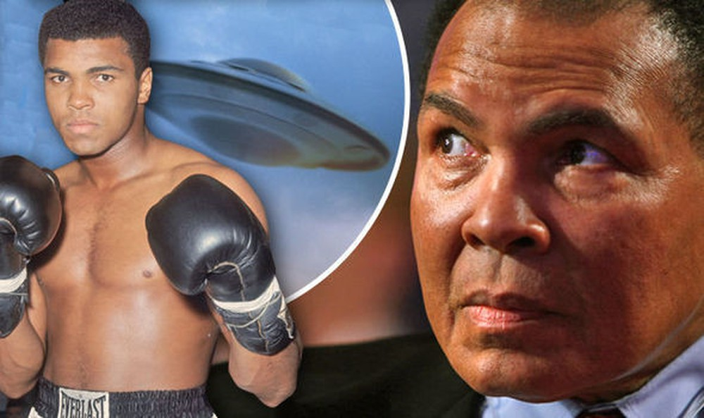 'ALIENS WATCHED ME': Boxing legend Muhammad Ali 'saw' several UFOs including mother ship