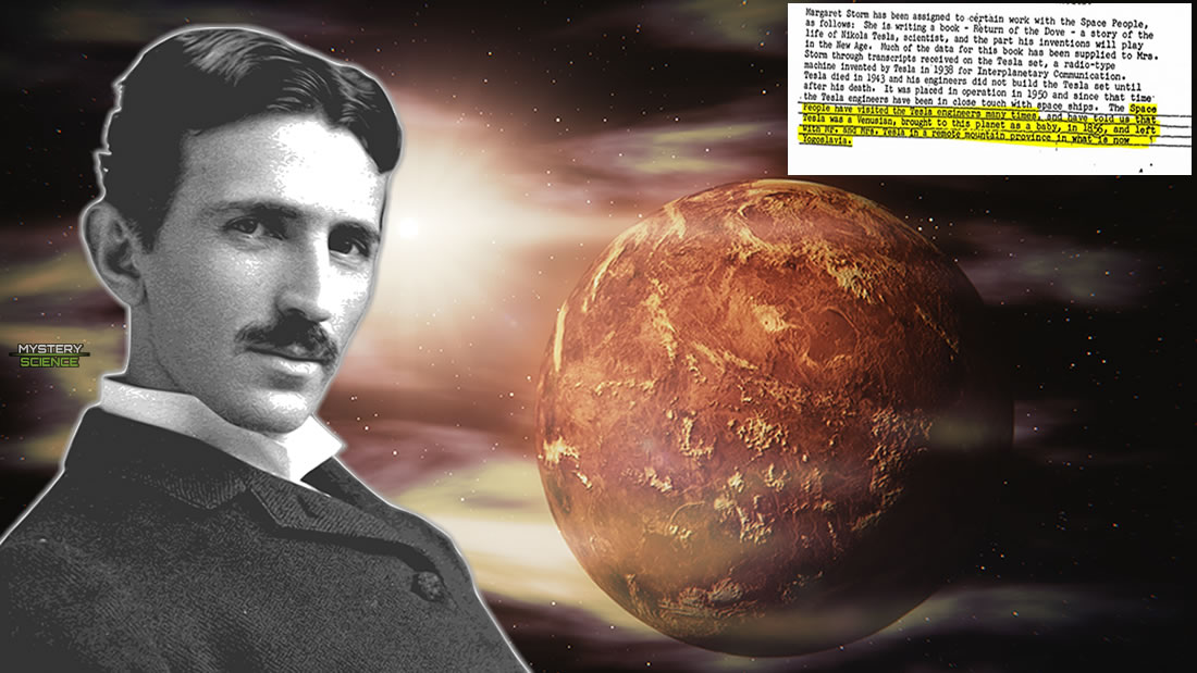 Nikola Tesla and his alleged connection with Venus, revealed by the FBI