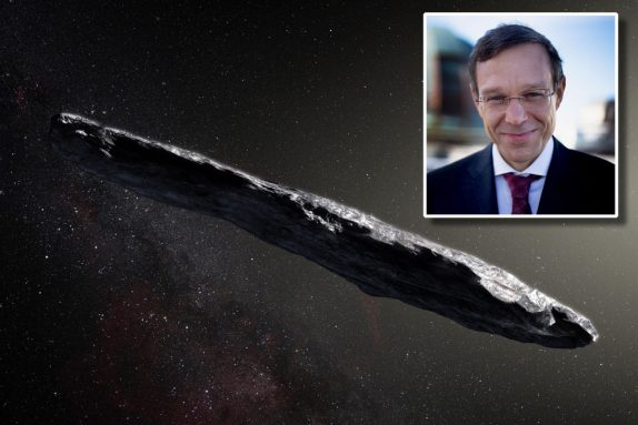 A Harvard professor says an alien visited in 2017 — and more are coming